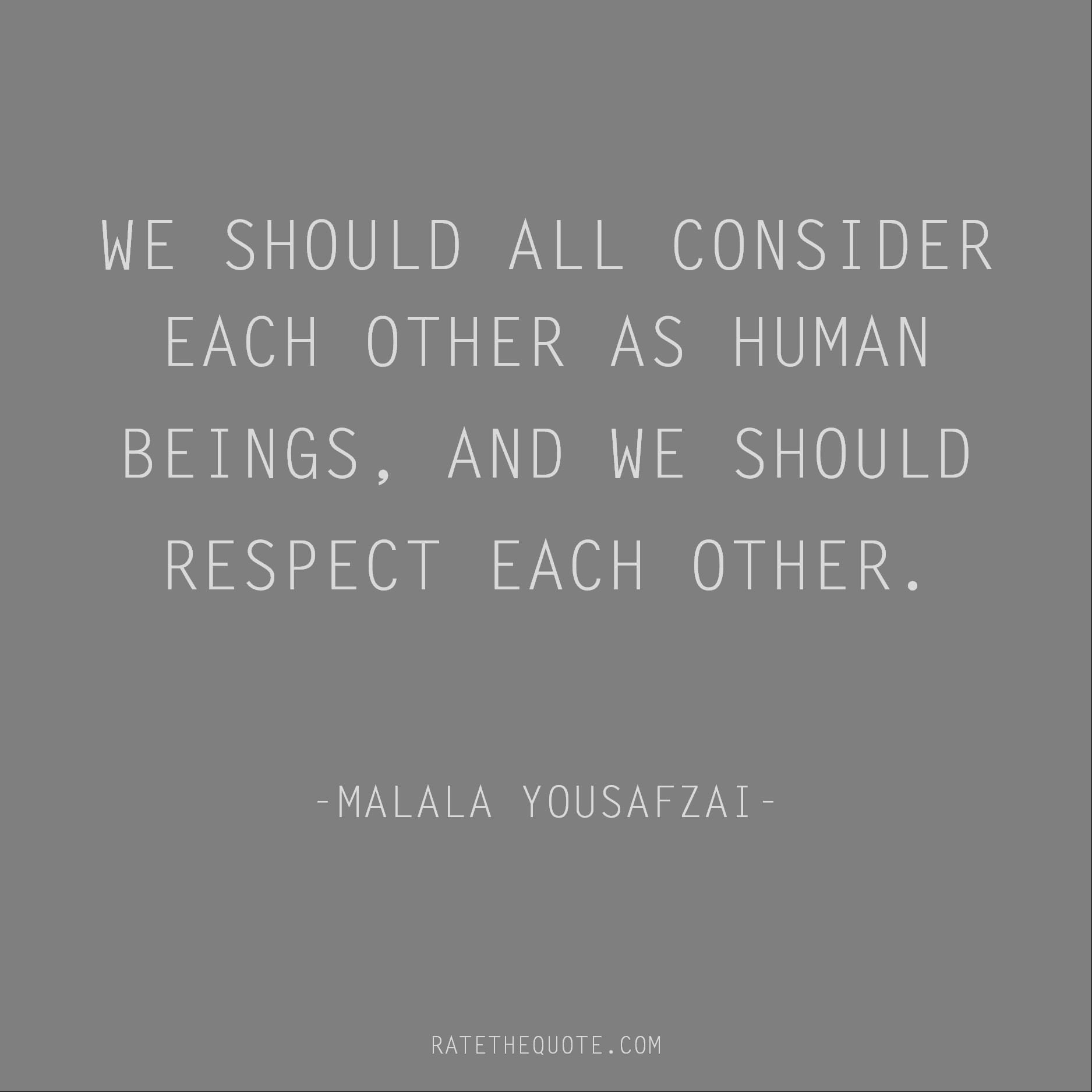 Quotes About Respect Ratethequote